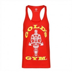 Gold's Gym Stringer Joe Premium Red