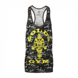 Gold's Gym Stringer Joe Camo Black
