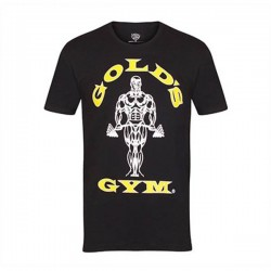 Gold's Gym T-Shirt Black Joe Gold